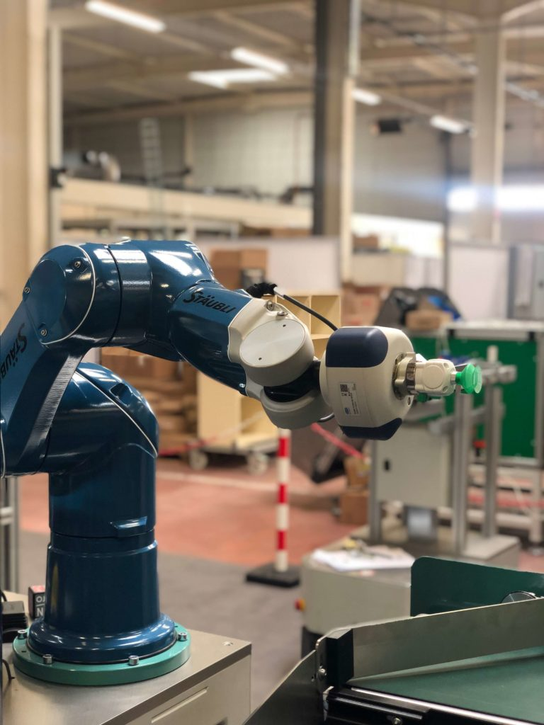 robot industrie du futur