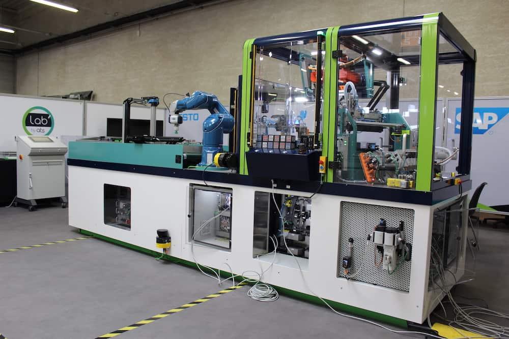 enjeux industrie 4.0 - axelle concept machine